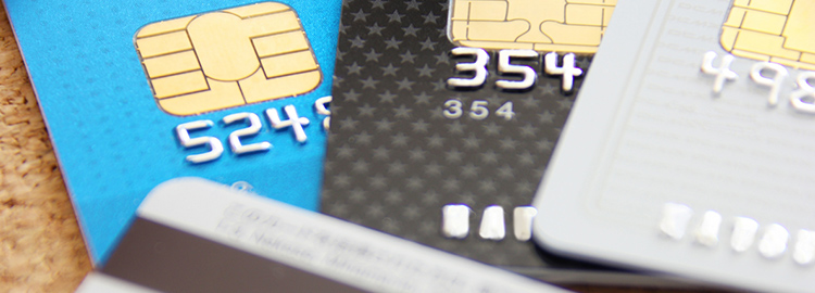 各種クレジットカードでのお支払い対応